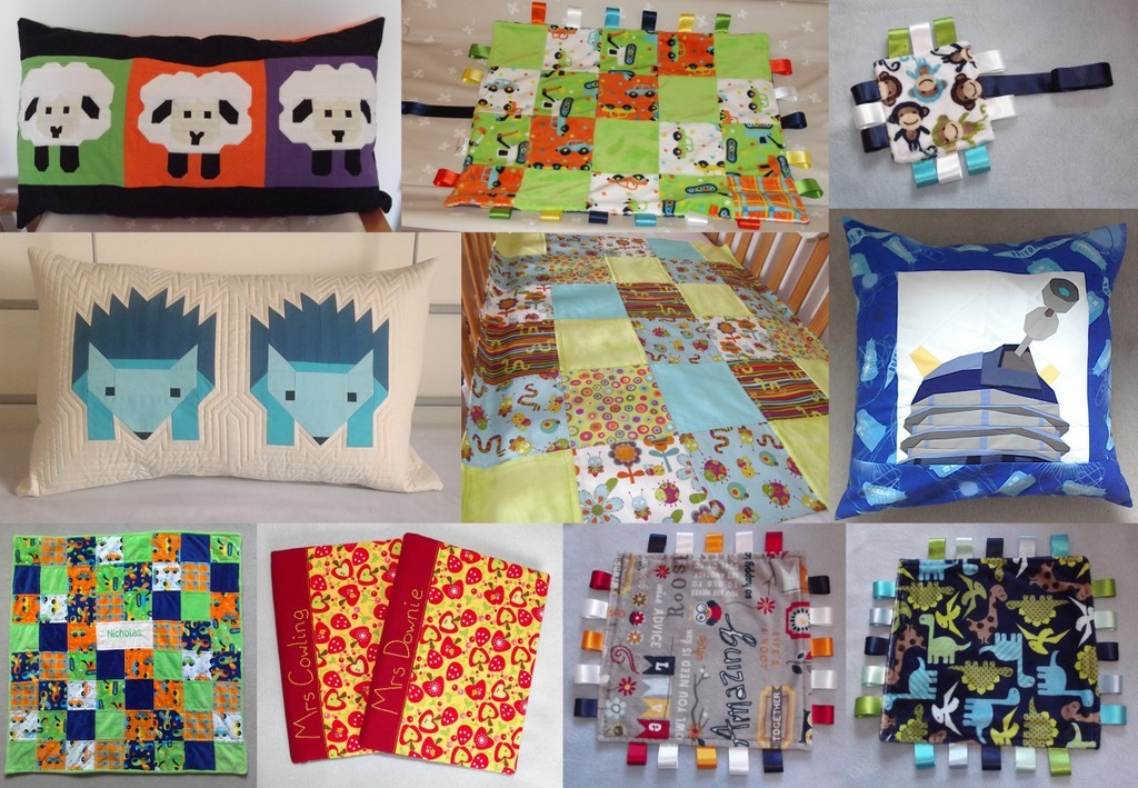 Blankets, Quilts, Cushions and Notebook Covers